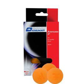Мячики для н/тенниса DONIC AVANTGARDE 3, 6 штук, оранжевый