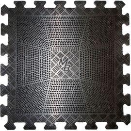 Коврик резиновый черный 400х400, толщина 20мм