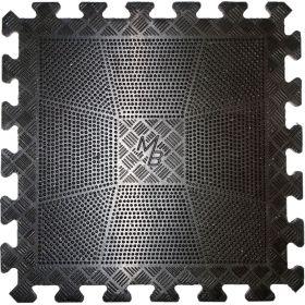 Коврик резиновый черный 400х400, толщина 12мм