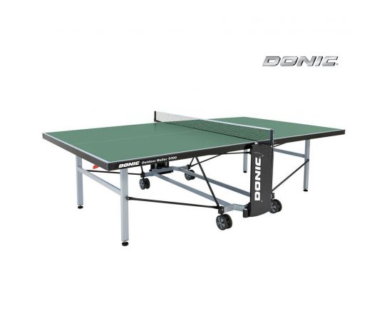 Теннисный стол DONIC OUTDOOR ROLLER 1000 GREEN