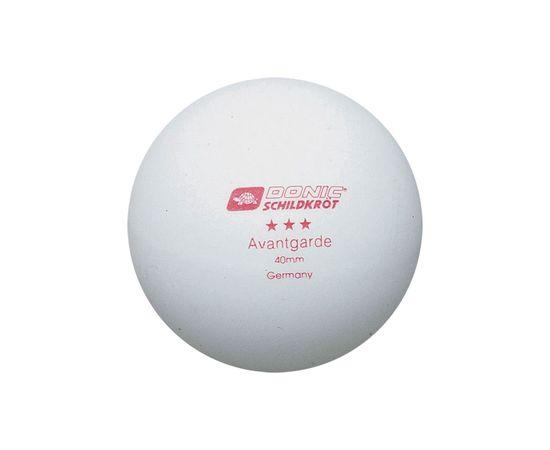 Мячики для н/тенниса DONIC AVANTGARDE 3, 6 штук, белый
