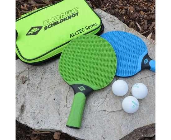 Набор DONIC ALLTEC HOBBY OUTDOOR (2 ракетки, 3 мячика, чехол)