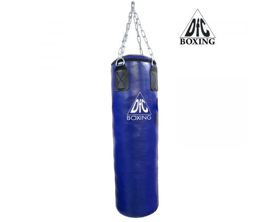 Боксёрский мешок DFC HBPV2.1 синий ( 100*30,30 ПВХ синий)
