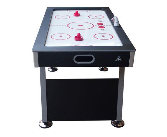 """Игровой стол - аэрохоккей DFC EDMONTON 55"""" LED-шайба"""