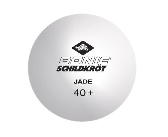Мячики для н/тенниса DONIC JADE 40+, 6 штук, белый