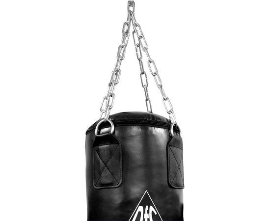 Боксёрский мешок DFC HBPV3.1 черн ( 120*30,40 ПВХ черный)