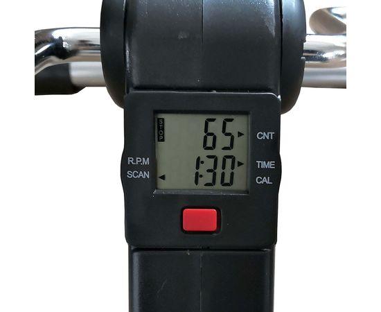 Велотренажер мини DFC B8207B (аналог W002X) черный с серым